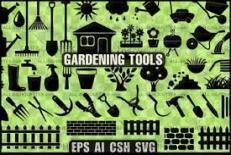پروژه وسایل  باغبانی